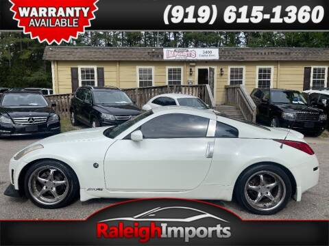 2003 Nissan 350Z for sale at Raleigh Imports in Raleigh NC