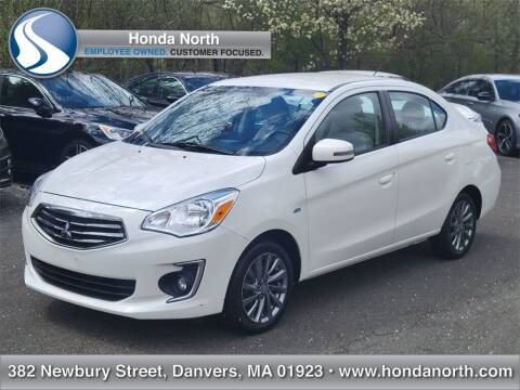 2017 Mitsubishi Mirage G4 for sale at 1 North Preowned in Danvers MA