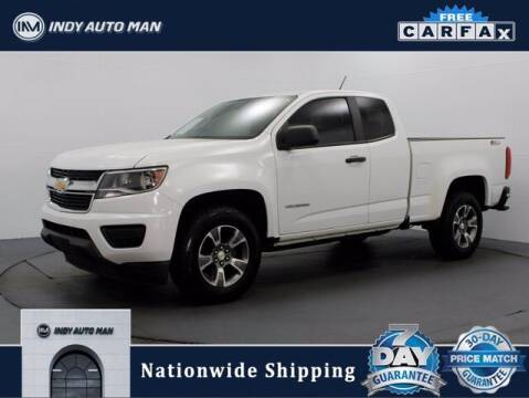 2016 Chevrolet Colorado for sale at INDY AUTO MAN in Indianapolis IN