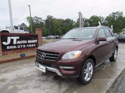 2014 Mercedes-Benz M-Class for sale at J T Auto Group in Sanford NC