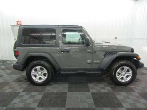 2020 Jeep Wrangler for sale at Michigan Credit Kings in South Haven MI