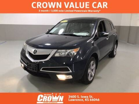 2013 Acura MDX for sale at Crown Automotive of Lawrence Kansas in Lawrence KS