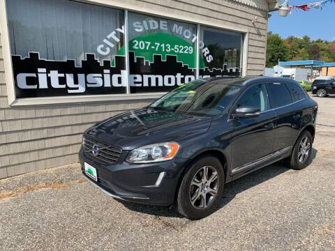2015 Volvo XC60 for sale at CITY SIDE MOTORS in Auburn ME
