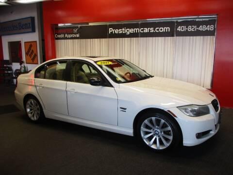 2011 BMW 3 Series for sale at Prestige Motorcars in Warwick RI