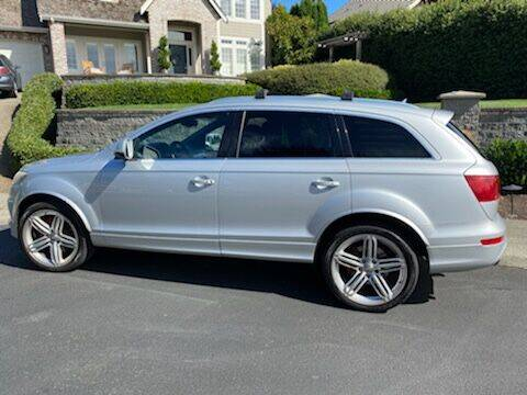 2012 Audi Q7 for sale at Supreme Carriage in Wauconda IL