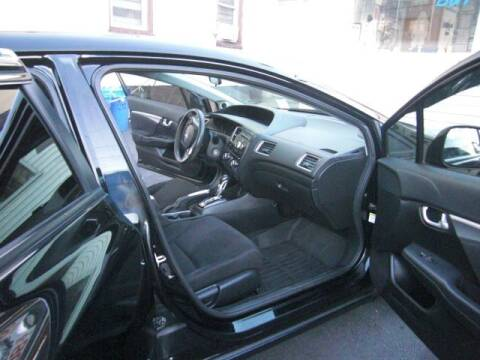 2013 Honda Civic for sale at Nicks Auto Sales Co in West New York NJ