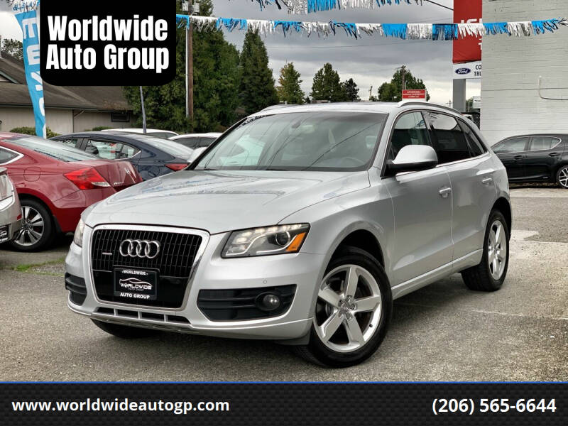 2010 Audi Q5 for sale at Worldwide Auto Group in Auburn WA