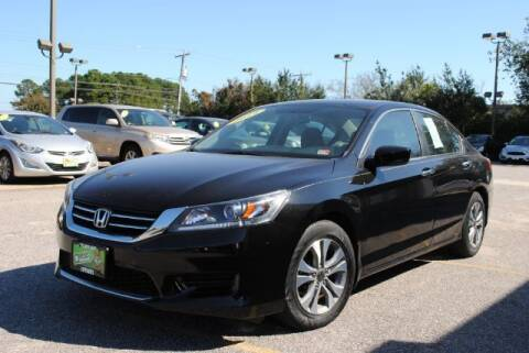 2014 Honda Accord for sale at Shore Drive Auto World in Virginia Beach VA