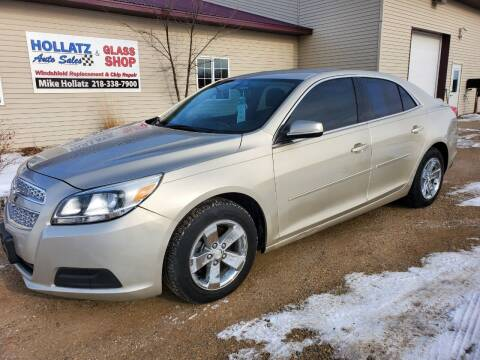 2013 Chevrolet Malibu for sale at Hollatz Auto Sales in Parkers Prairie MN