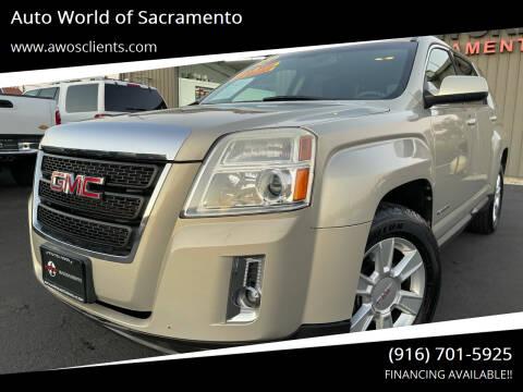 2011 GMC Terrain for sale at Auto World of Sacramento Stockton Blvd in Sacramento CA
