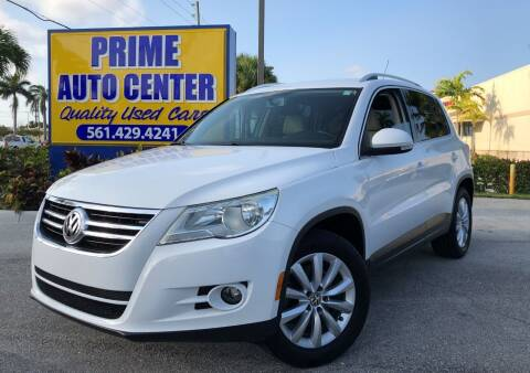 2011 Volkswagen Tiguan for sale at PRIME AUTO CENTER in Palm Springs FL