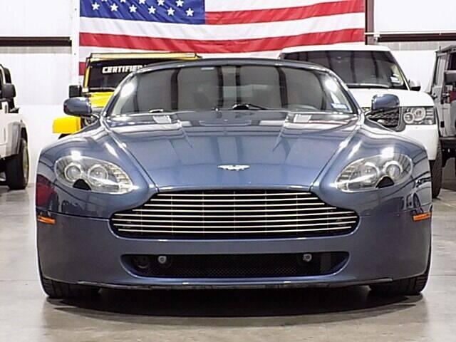 2009 Aston Martin V8 Vantage for sale at Texas Motor Sport in Houston TX
