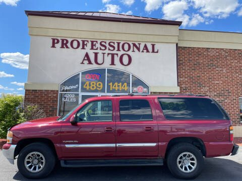 2004 GMC Yukon XL for sale at Professional Auto Sales & Service in Fort Wayne IN