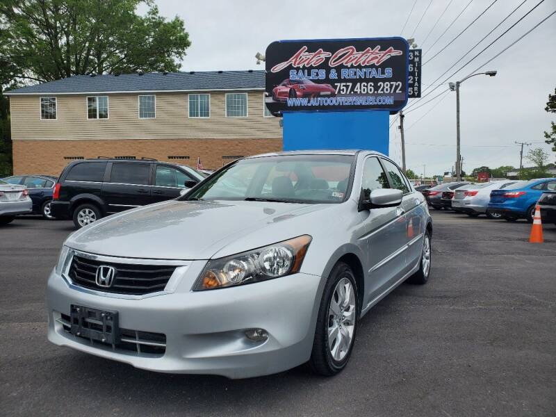 2008 Honda Accord for sale at Auto Outlet Sales and Rentals in Norfolk VA