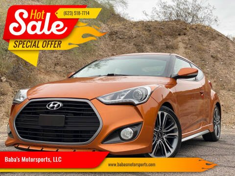 2016 Hyundai Veloster for sale at Baba's Motorsports, LLC in Phoenix AZ
