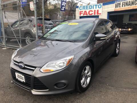 2014 Ford Focus for sale at DEALS ON WHEELS in Newark NJ