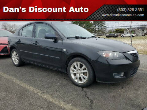 2008 Mazda MAZDA3 for sale at Dan's Discount Auto in Gaston SC