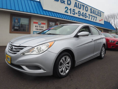 2013 Hyundai Sonata for sale at B & D Auto Sales Inc. in Fairless Hills PA