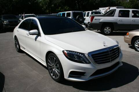 2016 Mercedes-Benz S-Class for sale at Mike's Trucks & Cars in Port Orange FL
