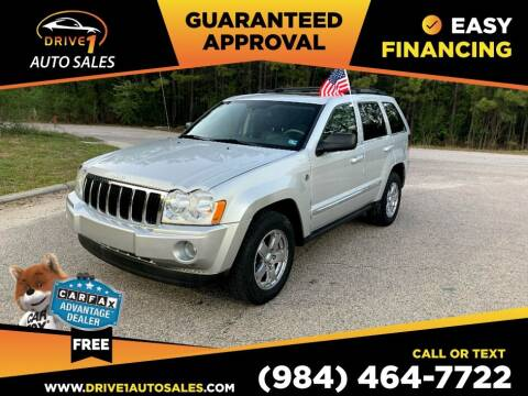 2007 Jeep Grand Cherokee for sale at Drive 1 Auto Sales in Wake Forest NC