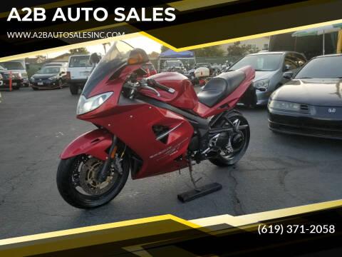 2006 Triumph SPRINT ST for sale at A2B AUTO SALES in Chula Vista CA