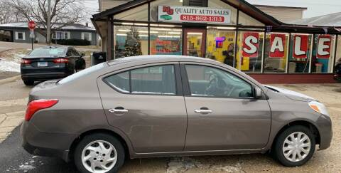 2012 Nissan Versa for sale at NJ Quality Auto Sales LLC in Richmond IL