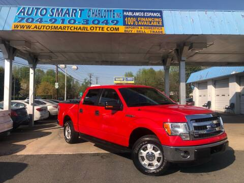2014 Ford F-150 for sale at Auto Smart Charlotte in Charlotte NC
