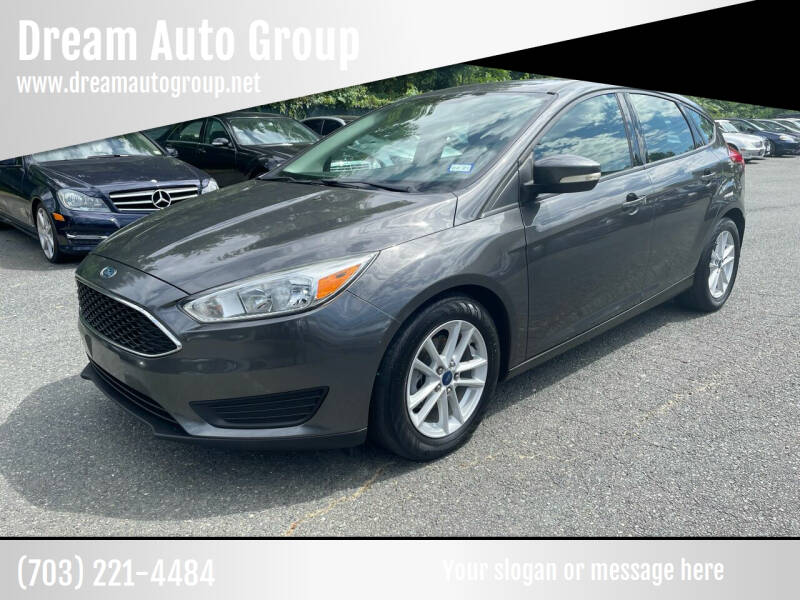 2015 Ford Focus for sale at Dream Auto Group in Dumfries VA