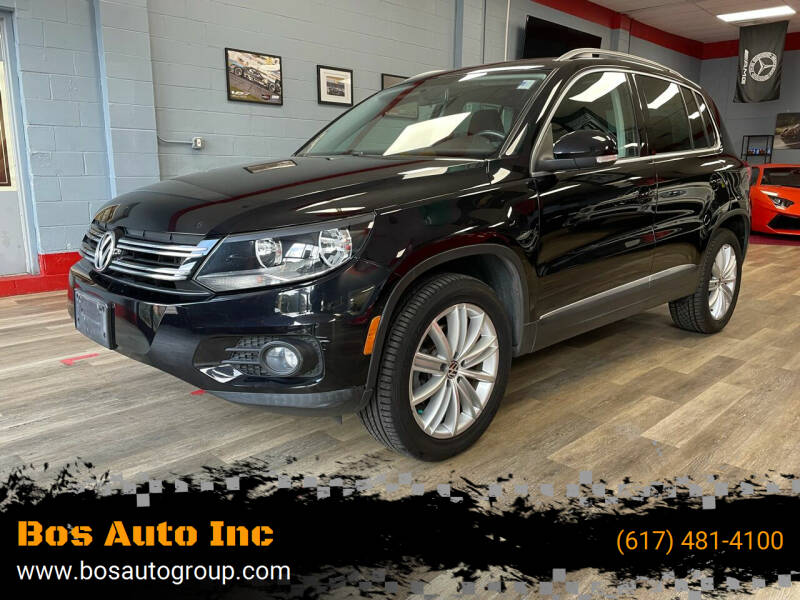 2013 Volkswagen Tiguan for sale at Bos Auto Inc in Quincy MA