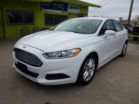 2016 Ford Fusion for sale at RODRIGUEZ MOTORS CO. in Houston TX