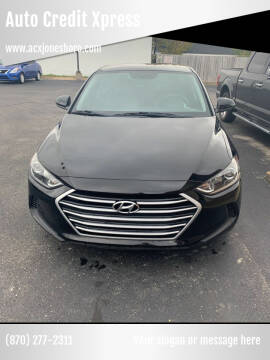 2017 Hyundai Elantra for sale at Auto Credit Xpress in Jonesboro AR