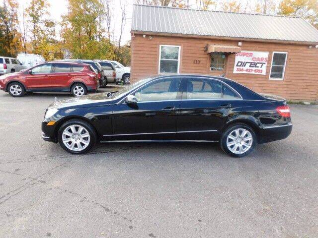 2013 Mercedes-Benz E-Class for sale at Super Cars Direct in Kernersville NC