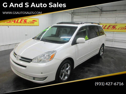 2004 Toyota Sienna for sale at G and S Auto Sales in Ardmore TN