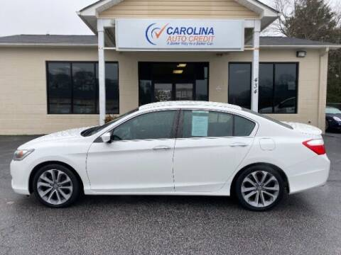2014 Honda Accord for sale at Carolina Auto Credit in Youngsville NC