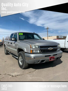 2006 Chevrolet Silverado 1500HD for sale at Quality Auto City Inc. in Laramie WY