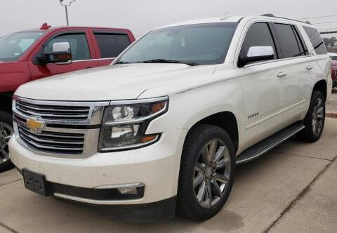 2015 Chevrolet Tahoe for sale at Lipscomb Auto Center in Bowie TX