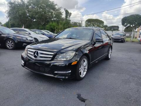 2013 Mercedes-Benz C-Class for sale at Bargain Auto Sales in West Palm Beach FL