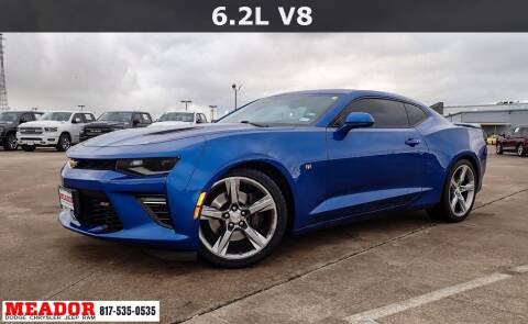 2017 Chevrolet Camaro for sale at Meador Dodge Chrysler Jeep RAM in Fort Worth TX