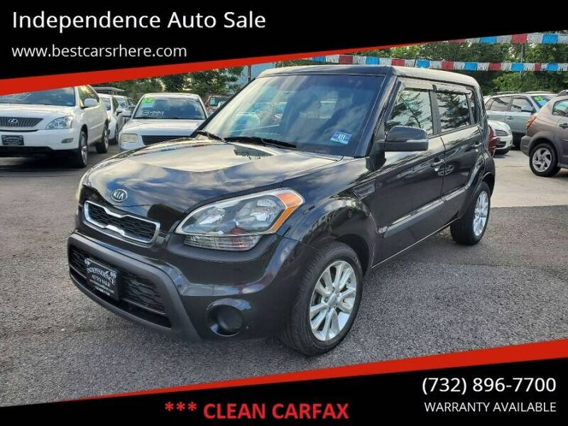 2012 Kia Soul for sale at Independence Auto Sale in Bordentown NJ