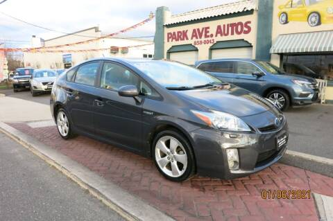 2010 Toyota Prius for sale at PARK AVENUE AUTOS in Collingswood NJ
