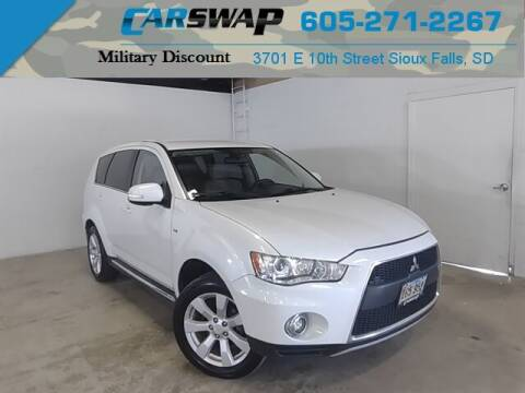2012 Mitsubishi Outlander for sale at CarSwap in Sioux Falls SD