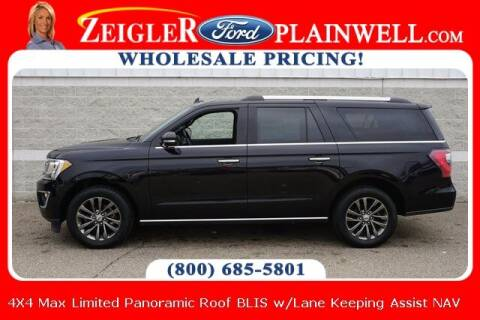 2020 Ford Expedition MAX for sale at Zeigler Ford of Plainwell- Jeff Bishop in Plainwell MI