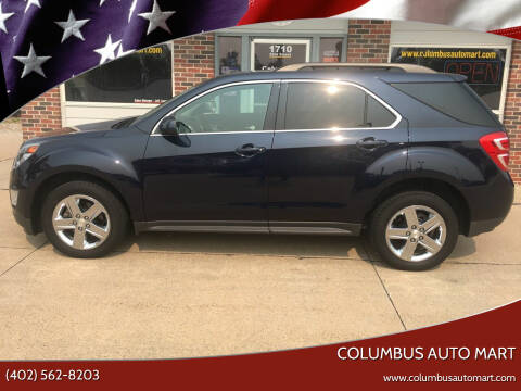2016 Chevrolet Equinox for sale at Columbus Auto Mart in Columbus NE