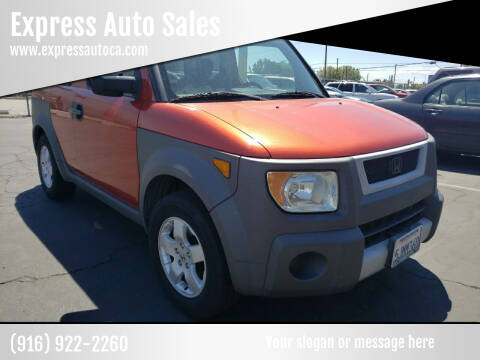 2003 Honda Element for sale at Express Auto Sales in Sacramento CA