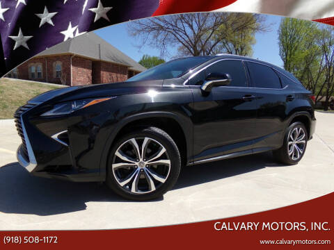 2017 Lexus RX 350 for sale at Calvary Motors, Inc. in Bixby OK