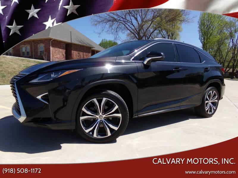 2017 Lexus RX 350 for sale at Calvary Motors, Inc. in Bixby OK