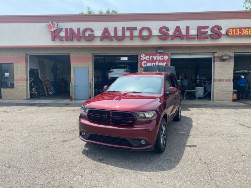 2017 Dodge Durango for sale at KING AUTO SALES  II in Detroit MI