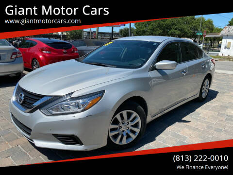 2017 Nissan Altima for sale at Giant Motor Cars in Tampa FL