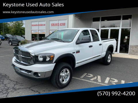 2009 Dodge Ram Pickup 2500 for sale at Keystone Used Auto Sales in Brodheadsville PA