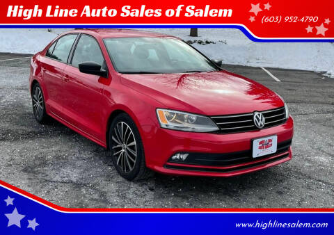2016 Volkswagen Jetta for sale at High Line Auto Sales of Salem in Salem NH